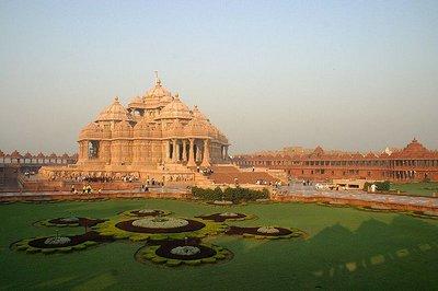 El templo de Akshardham: arte clásico hindú... del siglo XXI