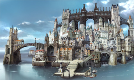 Bravely Second Ciudad