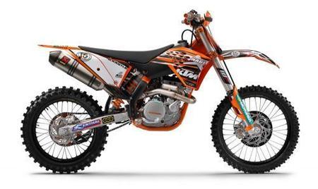 KTM lanza réplicas de las motos de Musquin y Nagl