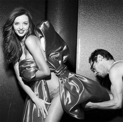 Póngame una Miranda Kerr de regalo, por favor...