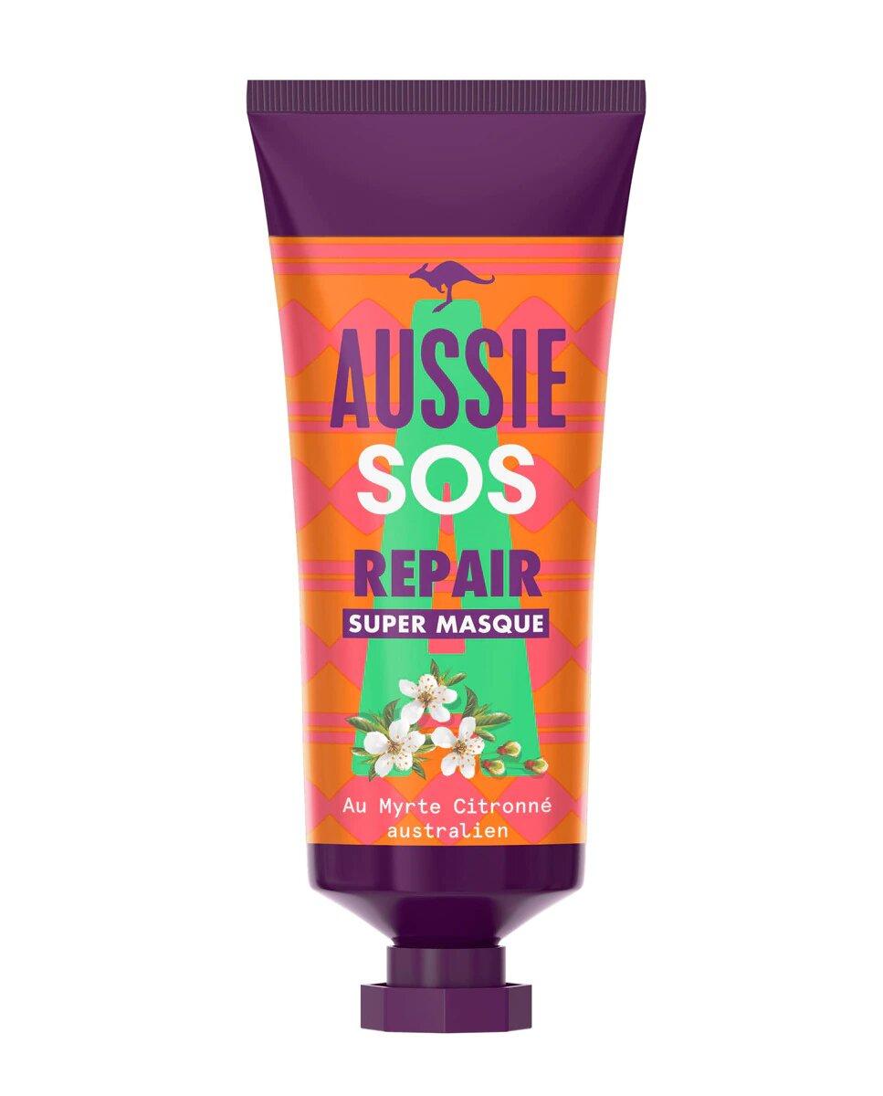 Tratamiento de reparación intensivo SOS Repair para pelo dañado Aussie