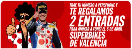 PepePhone regala 2 entradas para el Superbikes de Valencia