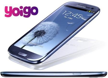 Yoigo subvencionará hasta 200 euros en junio con cualquier tarifa. Precios del Samsung Galaxy SIII