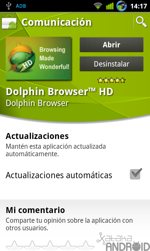 Foto de Dolphin Browser HD (1/21)