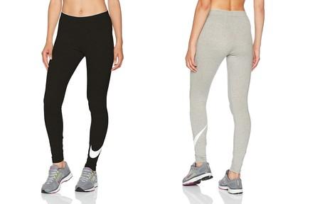 Desde 18,19 euros podemos hacernos con los leggings deportivos Nike Club Logo 2 en Amazon