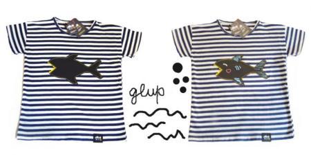 Camisetas pizarra de Julie & Jane