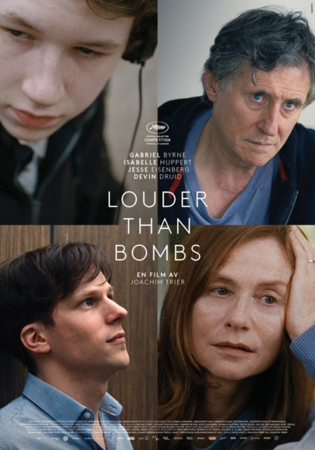 Cartel definitivo de Louder Than Bombs