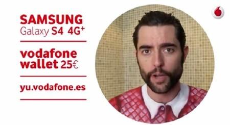 Vodafone regala 500 Galaxy S4 en sus tiendas si te atreves a unirte al bodypainting