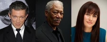 Freeman, Cassel y Kurylenko interpretan el thriller 'Momentum'