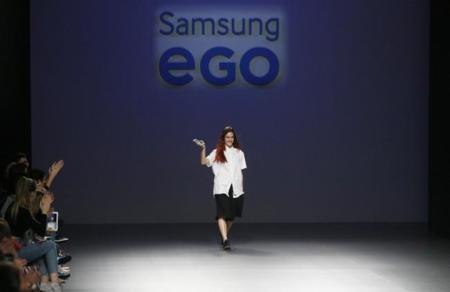 Pepa Salazar con Hyperdry ganadora de Samsung EGO Innovation Project combinando moda y tecnología