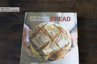 How to make bread. Libro de cocina