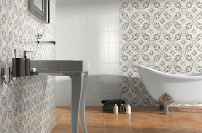 Tendencias en pavimentos y revestimientos para el ba o - Revestimientos de bano ...