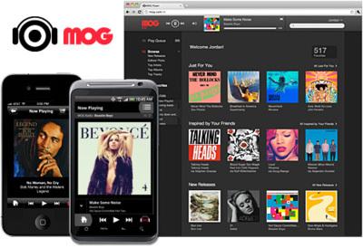 HTC podría haber adquirido MOG, un servicio de streaming musical