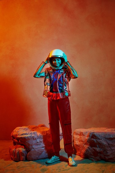 Alyssa Carson, de 15 años, tiene una extraescolar muy especial: prepararse para ser la primera persona en viajar a Marte en 2033