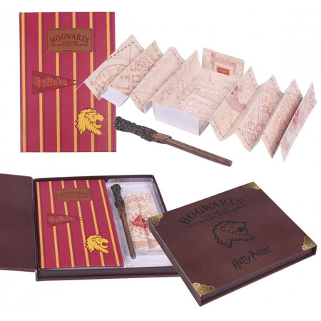 Set De Papeleria Deluxe Harry Potter Hogwarts