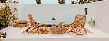 Zara Home nos propone las piezas de materiales naturales más ideales para darle un cambio a nuestro jardín o casa de verano