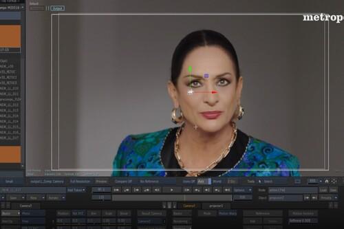 """Hablan los creadores del 'deepfake' de Lola Flores: """"Pese a usar Inteligencia Artificial fue un proceso bastante artesanal"""""""