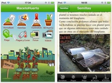 MacetoHuerto, tus plantas y jardín al día desde el iPhone e iPod touch