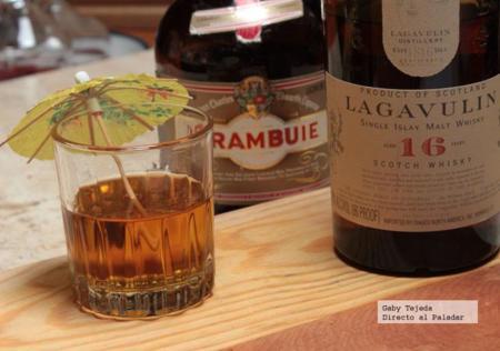 Receta: Un clásico para los amantes del Whisky. Clavo Oxidado