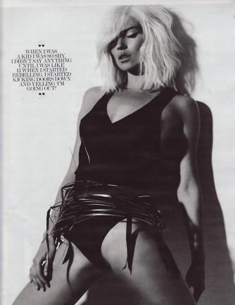 Kate Moss desnuda para Interview