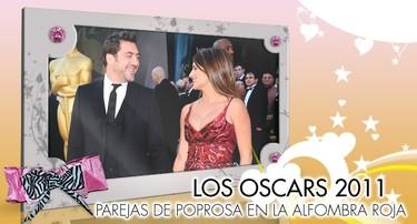 Especial Famosos en los Oscars 2011: Parejas de Poprosa en la Alfombra Roja
