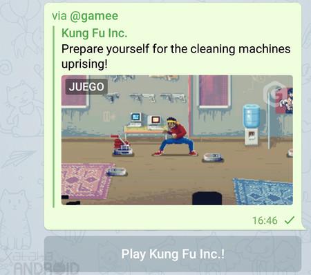 Así puedes jugar a los nuevos minijuegos de Telegram