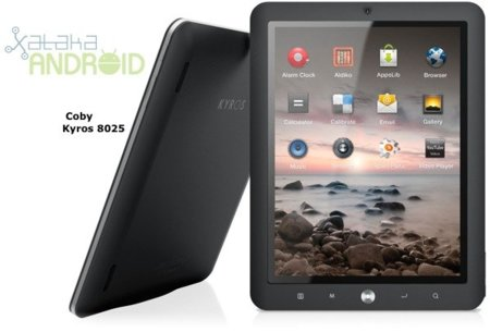 Coby Kyros tablets con Android