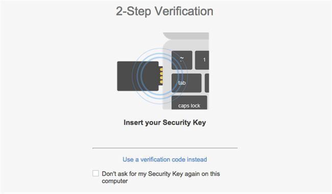 Google lanza Security Key, la verificación en dos pasos a través de un pendrive USB