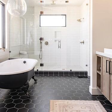 Once suelos inspiradores para el cuarto de baño