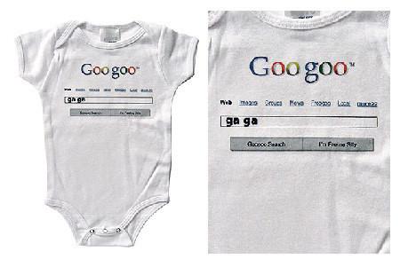 Body Googoo, para bebés geeks