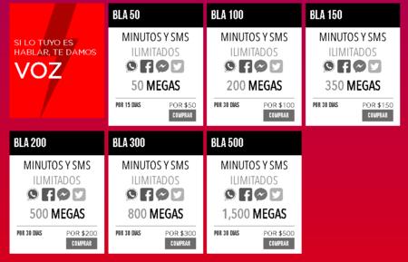 Virgin Mobile Paquetes Bla