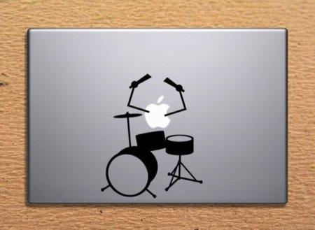 Cinco vinilos de música para tu MacBook. Batería