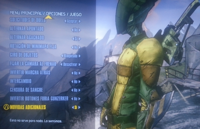 Borderlands 2 (Código Konami)