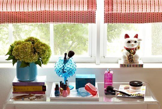 Foto de Puertas abiertas: dormitorio adolescente en rosa (1/5)