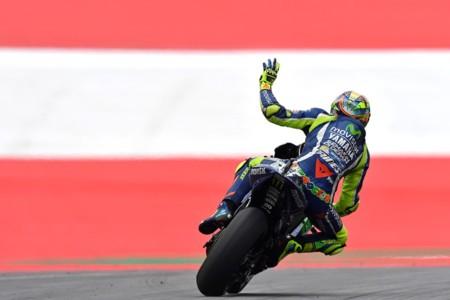 Valentino Rossi Yamaha Motogp Austria 2016