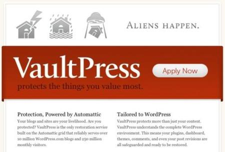 Vaultpress un sistema de copia de seguridad para blogs en Wordpress