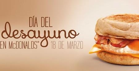 El 18 de marzo prueba el McMuffin gratis en McDonald's por el 'Día del desayuno'