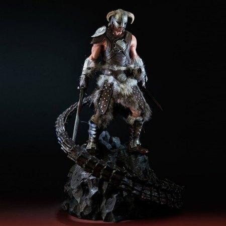 La figura oficial de Skyrim para tu escritorio