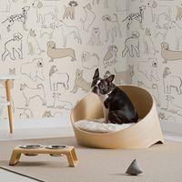 Una colección muy especial de papeles pintados para casas con mascota