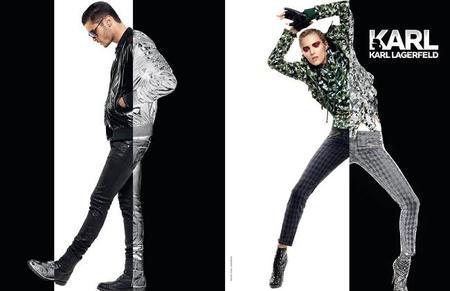 Karl Lagerfeld campaña Otoño Invierno 2012/2013