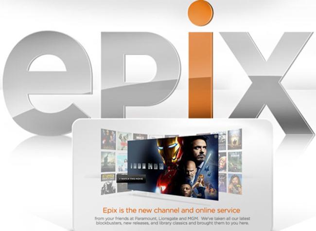 Epix, servicio de streaming
