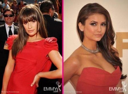Las mejor vestidas en la alfombra roja de los Emmys: ¡rojo que te cojo!