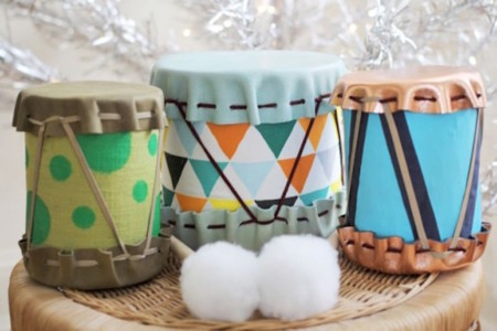 Diy Adorable Drums For Children 1 524x349