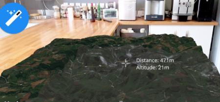 Horizon Explorer, la realidad aumentada acapara el horizonte en forma de mapas 3D