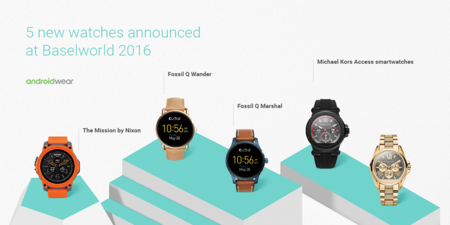 0ca44648d077 Android Wear en el Baselworld 2016  Nixon