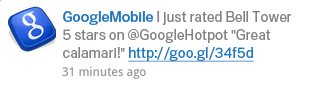 Google Maps con Twitter