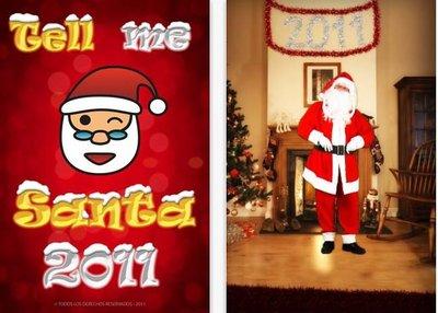 Tell me Santa 2011: mensaje personalizado de Papá Noel en una bonita aplicación