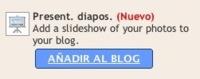 Presentaciones de imágenes, lo nuevo de Blogger