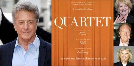 Dustin Hoffman debuta en la dirección con 'Quartet'