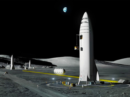 SpaceX ya está estudiando posibles sitios para aterrizar en Marte, según indican unas fotografías de la NASA